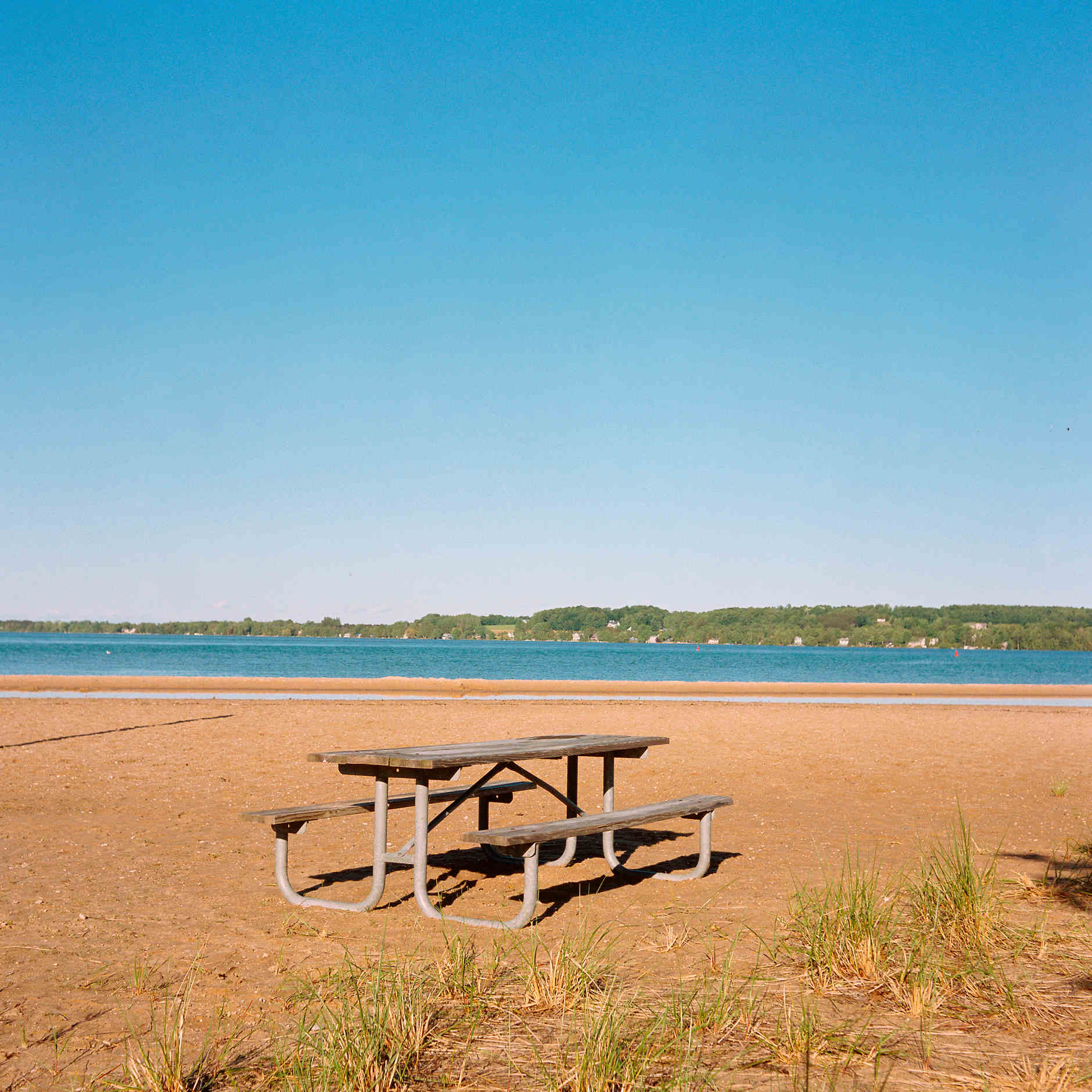 Suttons Bay Beach is pictured in Suttons Bay, Michigan on Monday, June 10, 2019. (Photo by James Brosher)