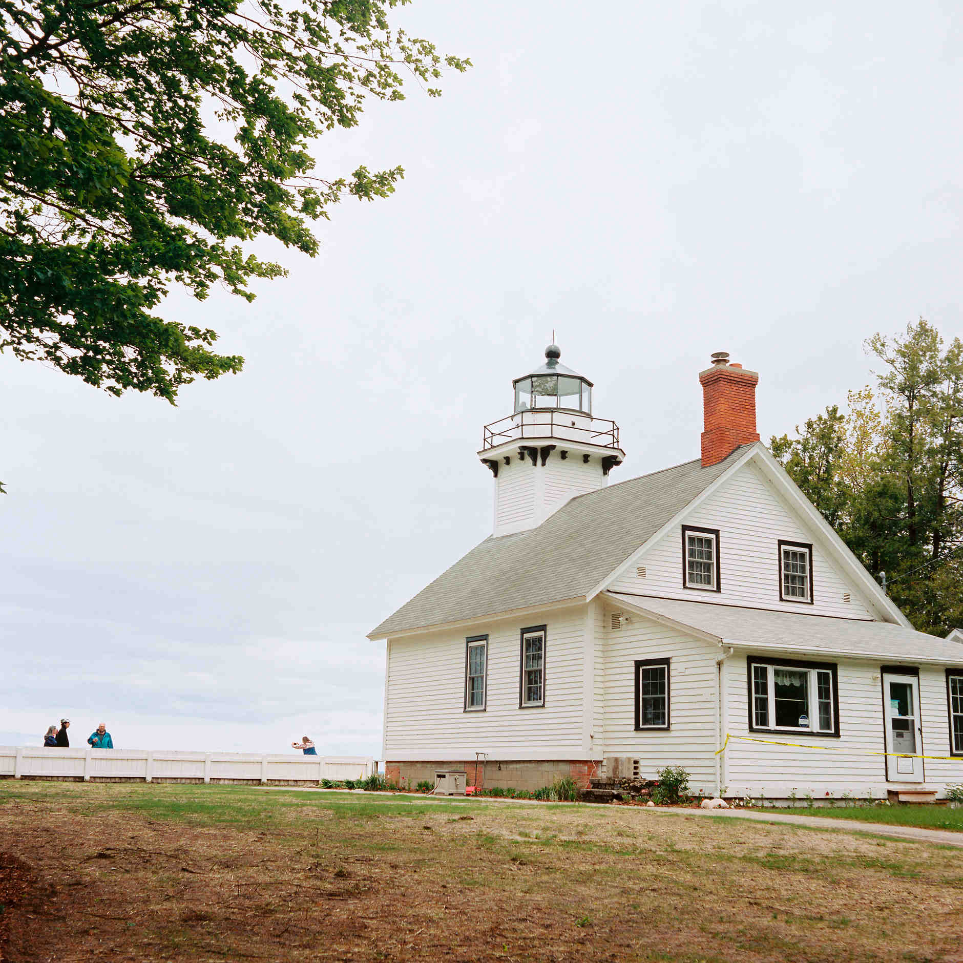 The Mission Point Lighthouse is pictured near Traverse City, Michigan on Thursday, June 13, 2019. (Photo by James Brosher)