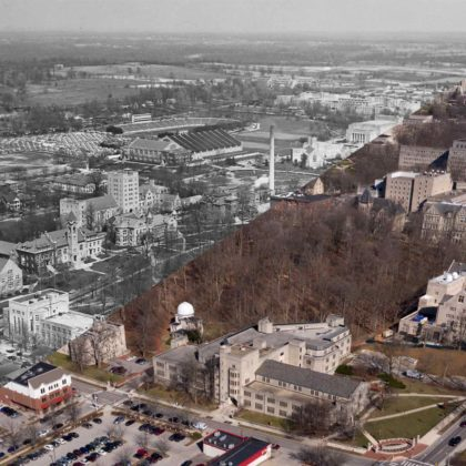 Indiana University Then and Now